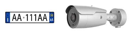 Immagine per la categoria TELECAMERE LETTURA TARGHE
