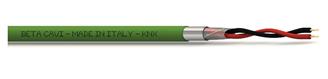 Immagine di CAVO KNX 2X2X0.80 +T+S DURAFLAM LSZH IN BOB. 500MT VERDE - CPR UE 305/11 CL. ECA