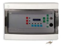 Immagine di CENTRALE RIVELAZIONE GAS 4 INGRESSI IN CONTENITORE ABS IP65 + ALIMENTATORE