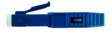 Immagine di CONNETTORE PRELAPPATO LC/UPC OS2 MONOMODALE COL. BLUE