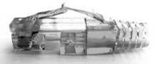 "Immagine di CONNETTORE RJ45 PASSANTE ""PASS TRUE"" AWG23 - AWG24"