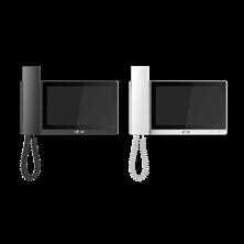 """Immagine di MONITOR INTERNO LCD 7"""" TOUCH SCREEN CAPACITIVO WIFI LAN 10/100 12VDC/POE - NERO"""