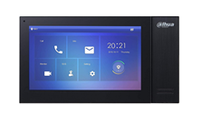 """Immagine di MONITOR INTERNO LCD 7"""" TOUCH SCREEN CON SD CARD 12VDC CON FINITURE NERE"""