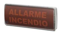 Immagine di PANNELLO OTTICO/ACUSTICO A LED CON BUZZER AUTOALIMENTATO IP42 ALIM. 24V