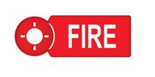 "Immagine di TARGA DI SUPPORTO PER AVVISATORI OTTICO ACUSTICI ""FIRE""ASx367,ASx2367,FAx355"
