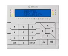 Immagine di TASTIERA LCD 2 RIGHE CON LETTORE PER CENTRALI BENTEL