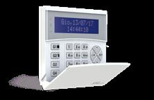 Immagine di TASTIERA WIFI BIDIREZIONALE LCD BLU CON LETTORE RFID/NFC INTEGRATO