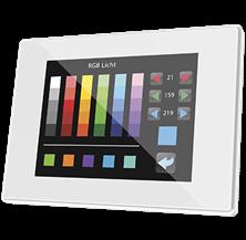 """Immagine di TOUCH Z41 LITE 4,1"""" LCD PVC BIANCO"""